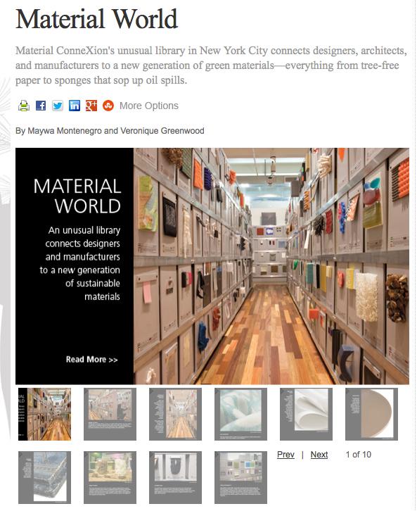 material world slider